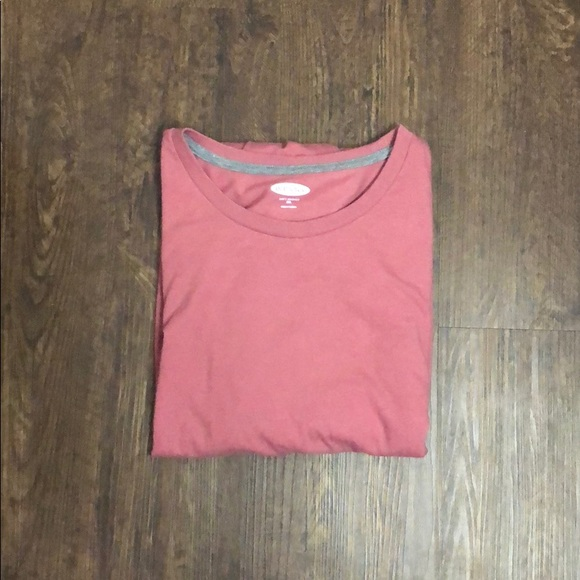 Old Navy Other - Old Navy Soft Washed Red Plain Tee-Shirt